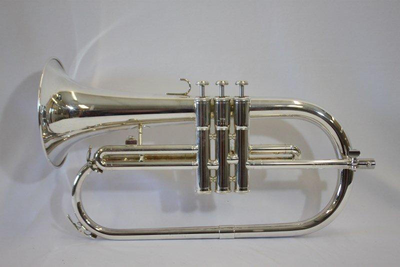 Silver Plate Fluegl Horn by Yamaha,