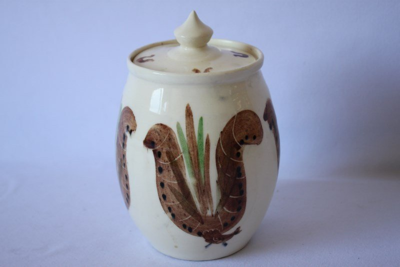 Martin Boyd Pottery Jar and Cover,