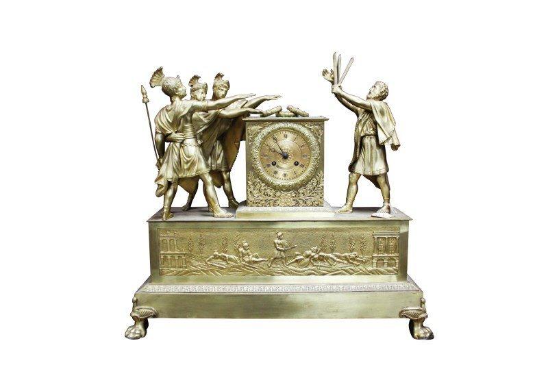 Wonderful Early 19th Century French Ormolu Mantle