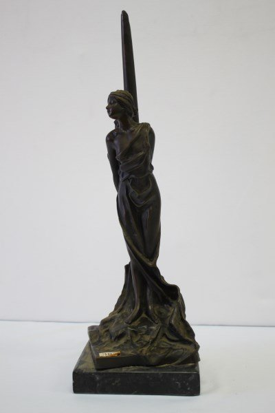 Late 19th Century French Bronze Figure,