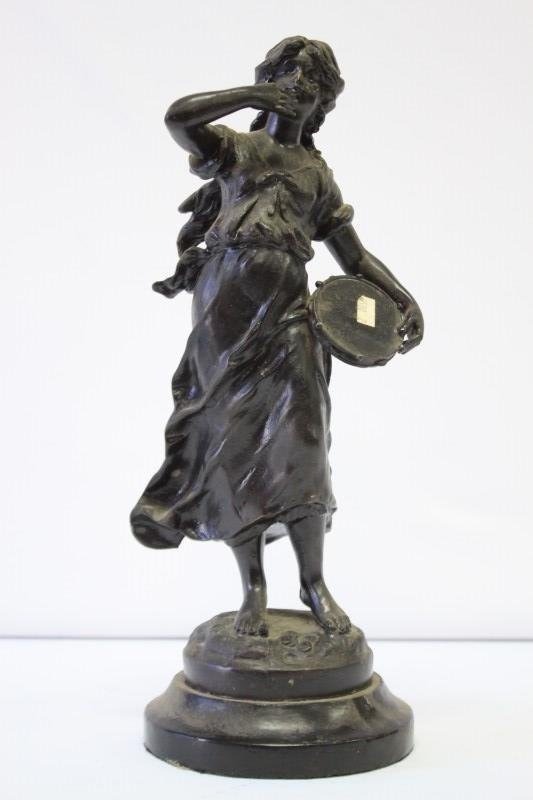 Early 20th Century Bronzed Figure,