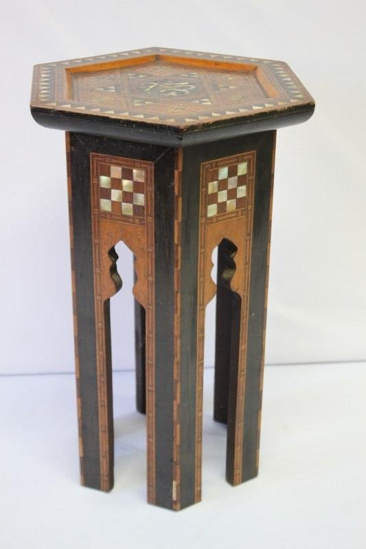 Beautiful Moroccan Inlaid Occasional Table,