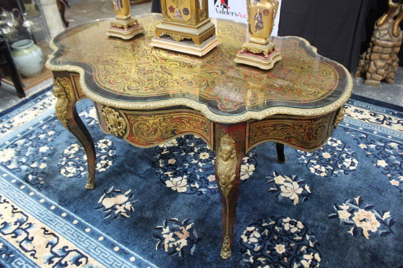 Wonderful Late 19th Century French Boulle Centre Table,