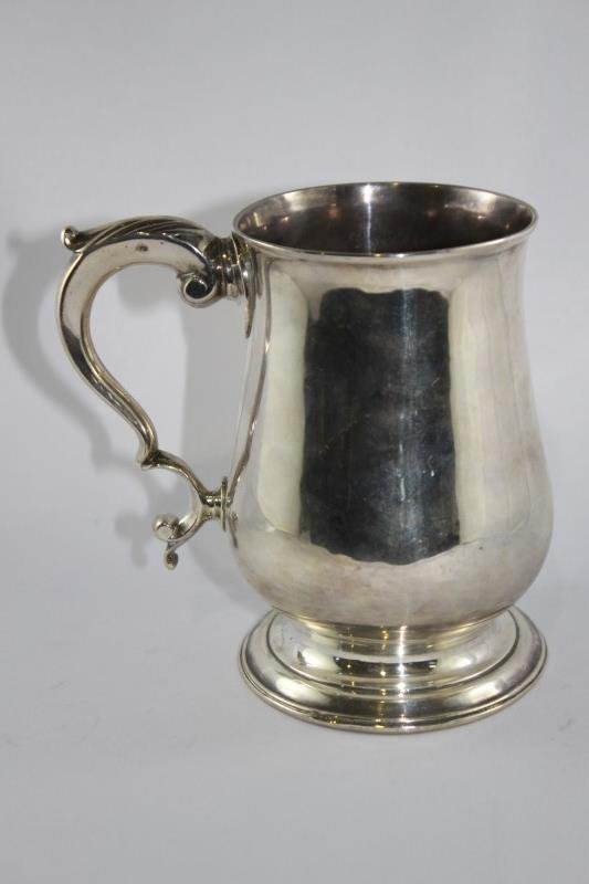 Good George III Sterling Silver Tankard,