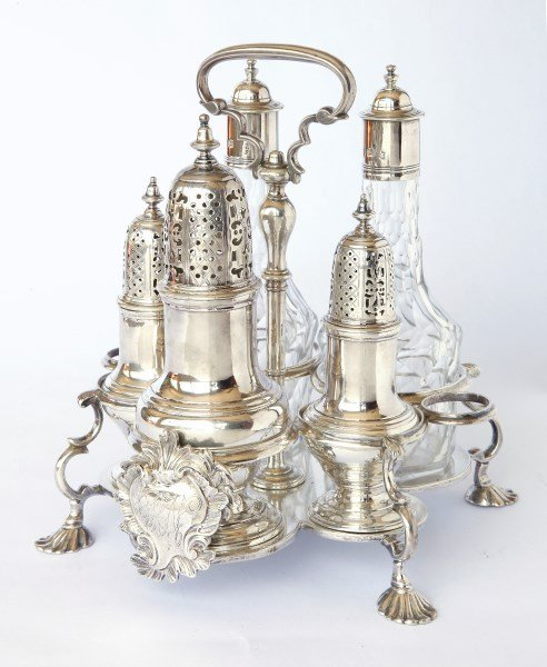 Wonderful George II Sterling Silver Six Piece