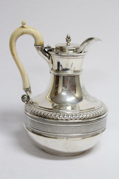 Wonderful George III Sterling Silver Teapot,