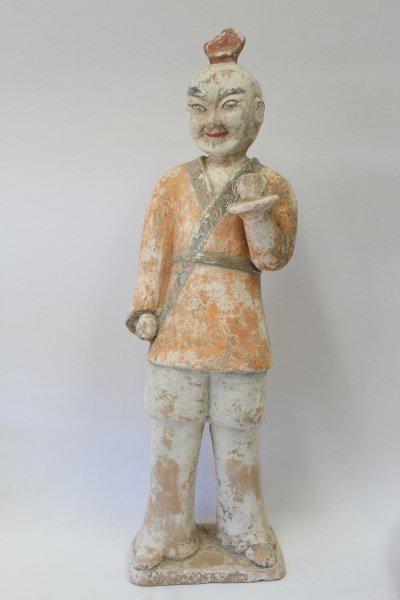 Chinese Pottery Figure,
