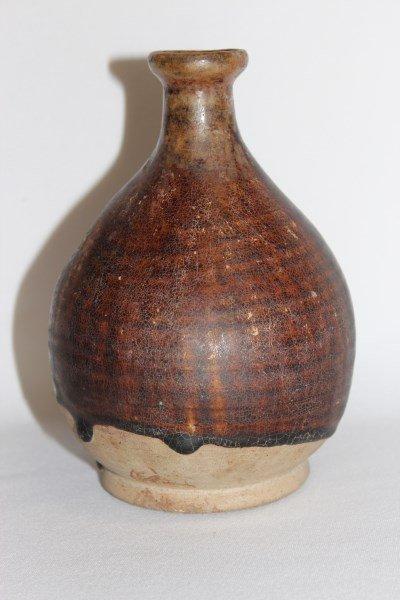 Sukhothai 17th Century Period Stoneware Vase,