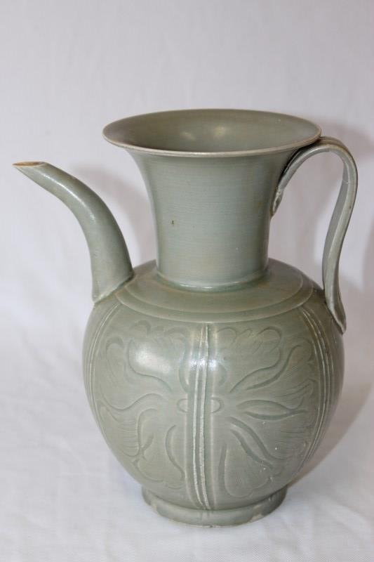 Chinese Celadon Ewer,