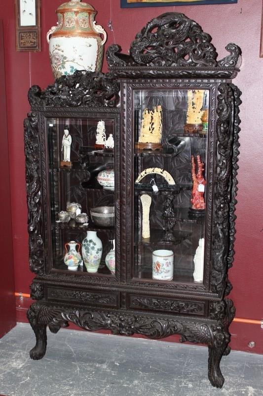 Chinese Display Cabinet,
