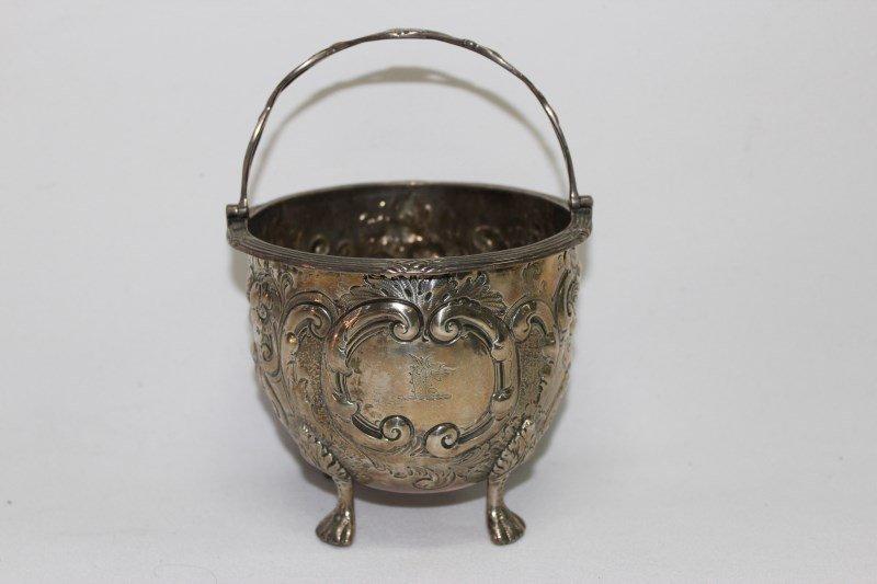 George III Sterling Silver Bon Bon Dish,