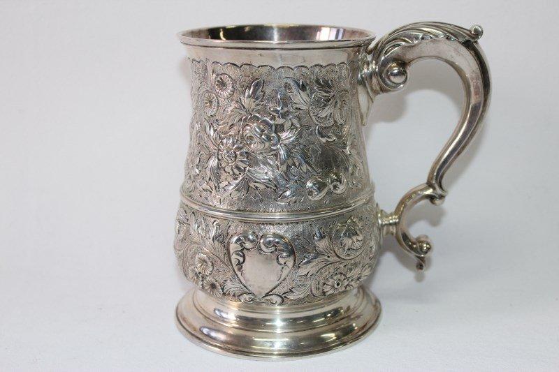 George II Sterling Silver Tankard,