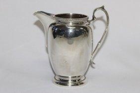 Australian Sterling Silver Cream Jug,