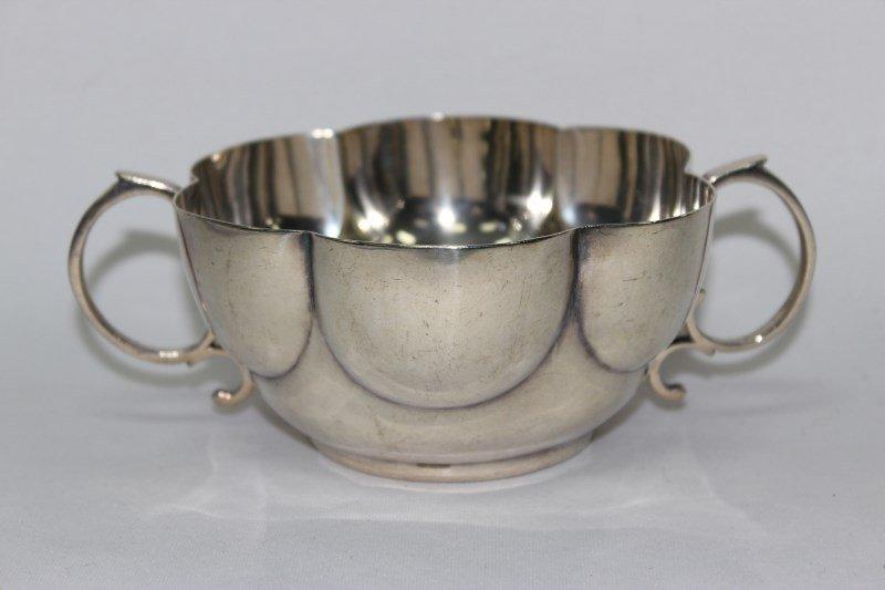Victorian Sterling Silver Porringer