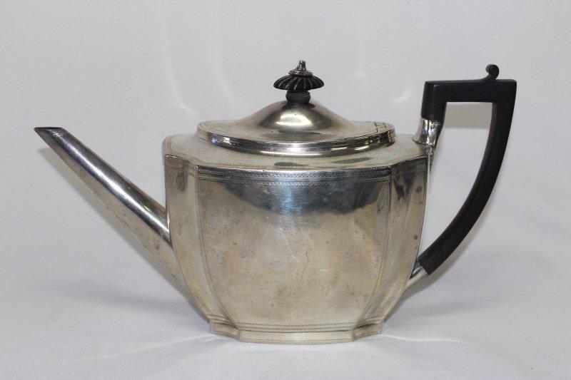 George III Sterling Silver Tea Pot,