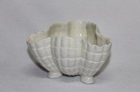Royal Worcester Blanc De Chine Porcelain Vase,