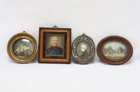 Four Various Miniatures,