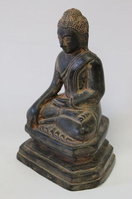 Thai Bronze Figure of Buddha,
