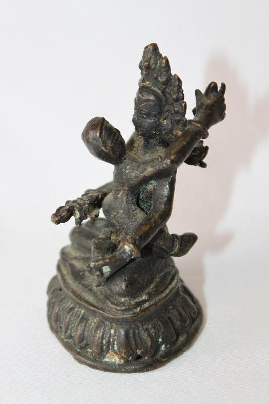 19th Century Petit Indian Buddha Group,