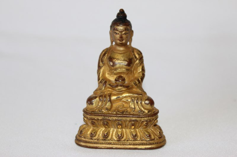 Gilt Bronze Figure of Bhaisajyaguru,