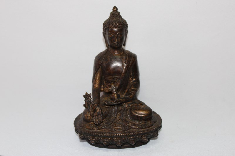 Chinese Bronze Sculpture of Buddha,