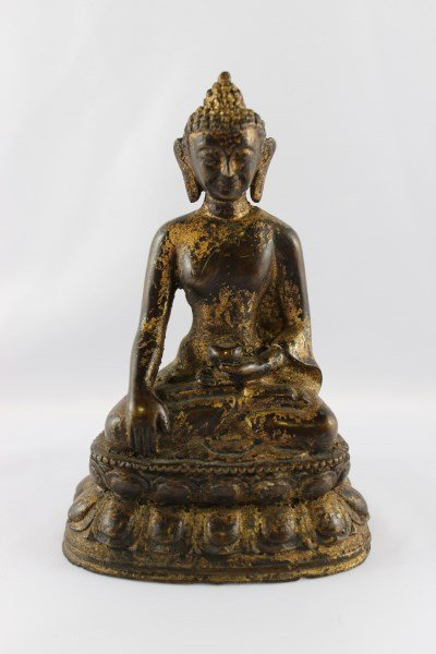 Chinese Bronze Sculpture of Bhaisajyaguru,