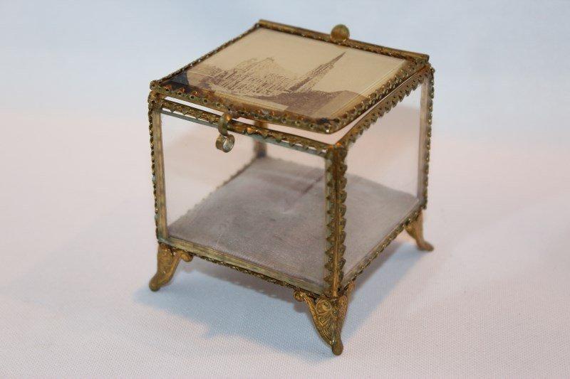 French Gilt Trinket Box,