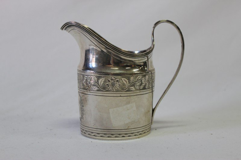 William IV Sterling Silver Creamer,