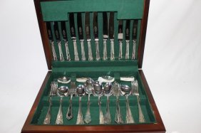 English Sterling Silver Cutlery Set,