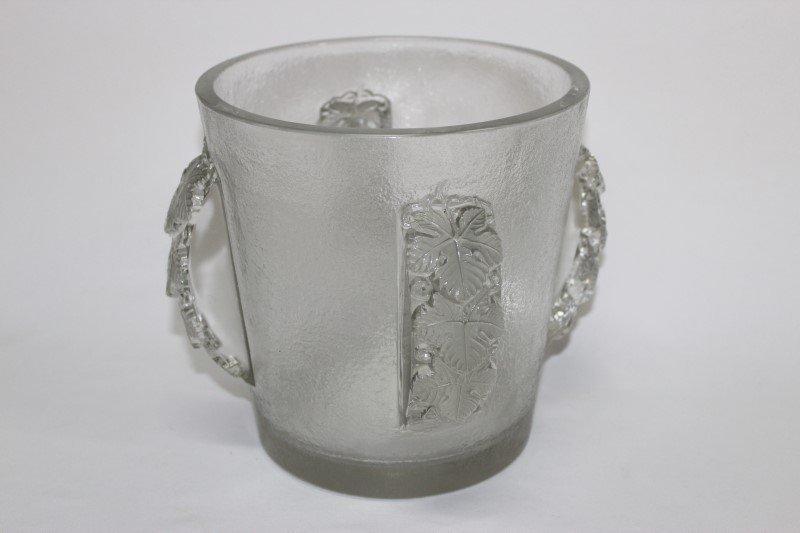 Rare Rene Epernay Lalique Ice Bucket