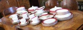Royal Worcester 'regency' Pattern Dinner Service,