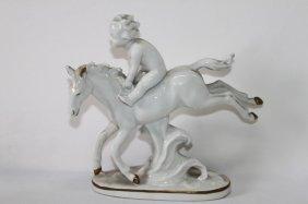 German Porcelain Figure Group,