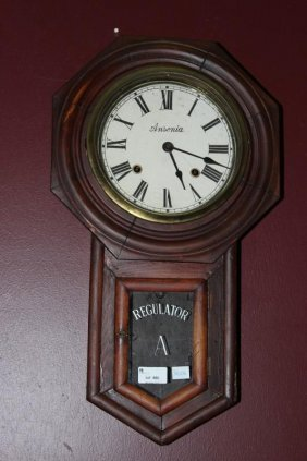 Ansonia Regulator Clock,