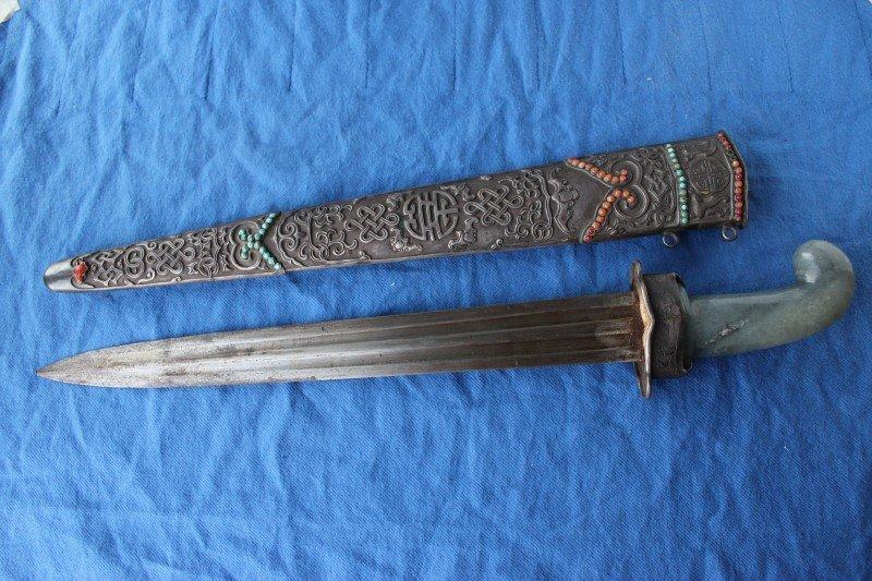 Superb 19th Century Chinese Short Sword,