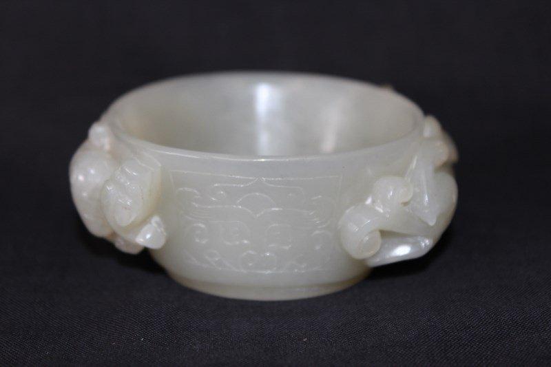 Good Chinese Jade Brush Washer,