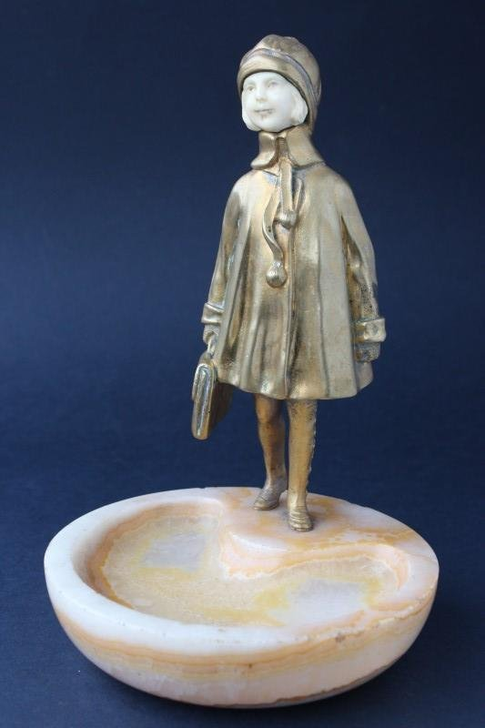 Demetre Chiparus (1886-1947) Art Deco Bronze and