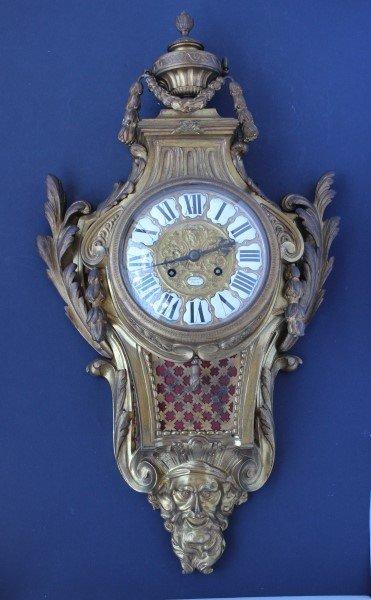 Stunning Napoleon III Ormolou Wall Clock,
