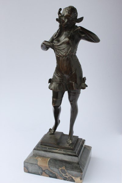 Stunning Bruno Zach (1891-1935) Erotic Bronze