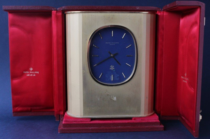 Wonderful Patek Philippe Mantle Clock and Case,