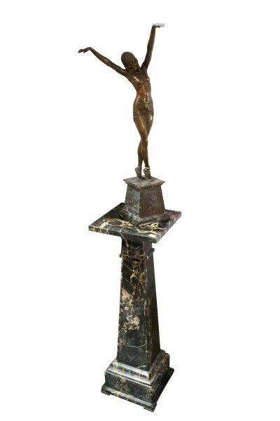 Demetre Chiparus (1886-1947) Art Deco Bronze