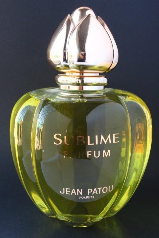 Jean Patou 'Sublime' Factice Perfume Bottle,