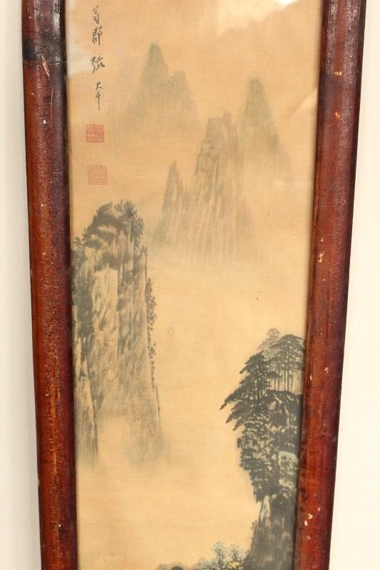Four Chinese Panels, - 2