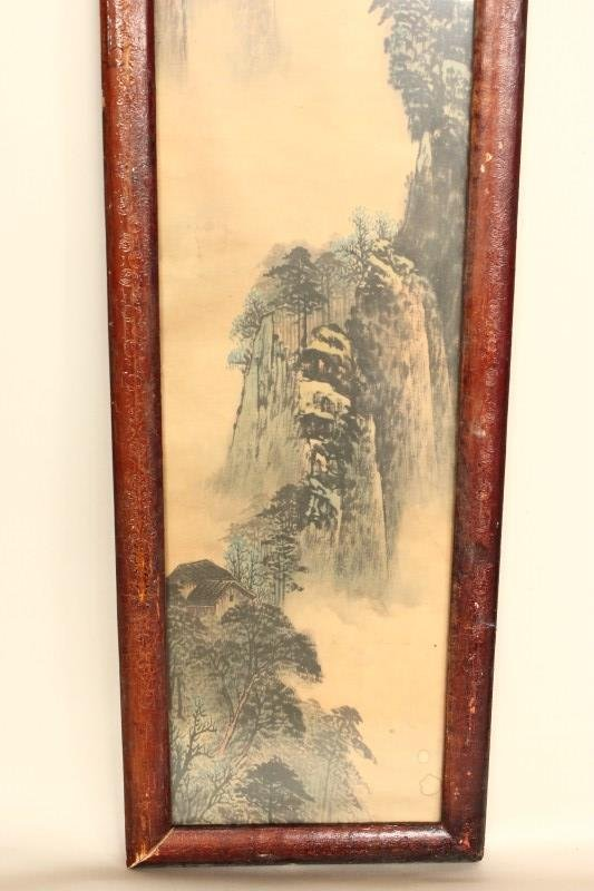 Four Chinese Panels, - 3