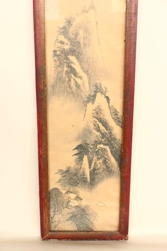 Four Chinese Panels, - 5