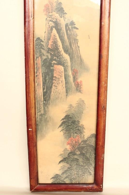 Four Chinese Panels, - 7