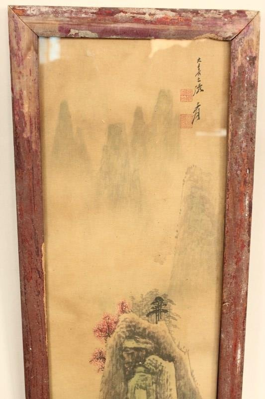 Four Chinese Panels, - 8