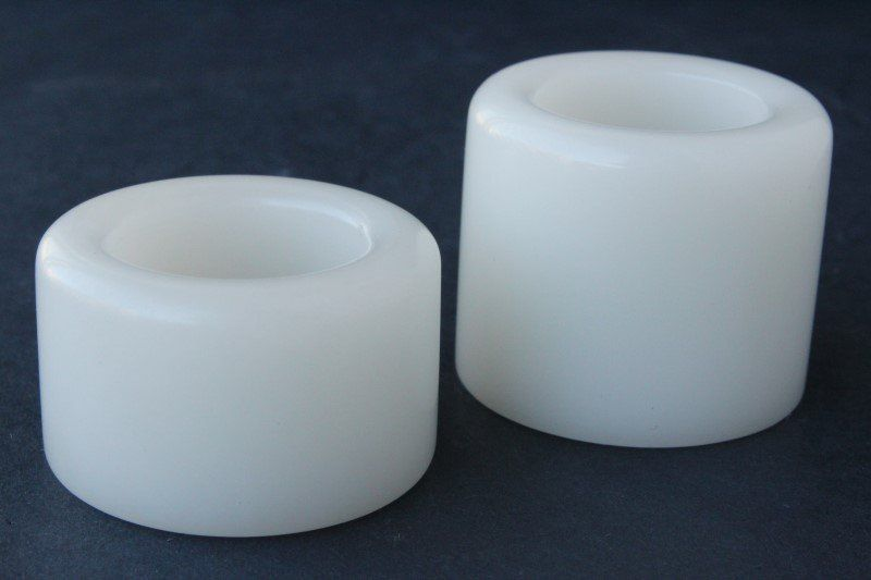 Two Chinese White Archers Rings,