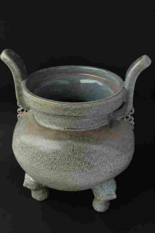 Large Chinese Porcelain Censer,