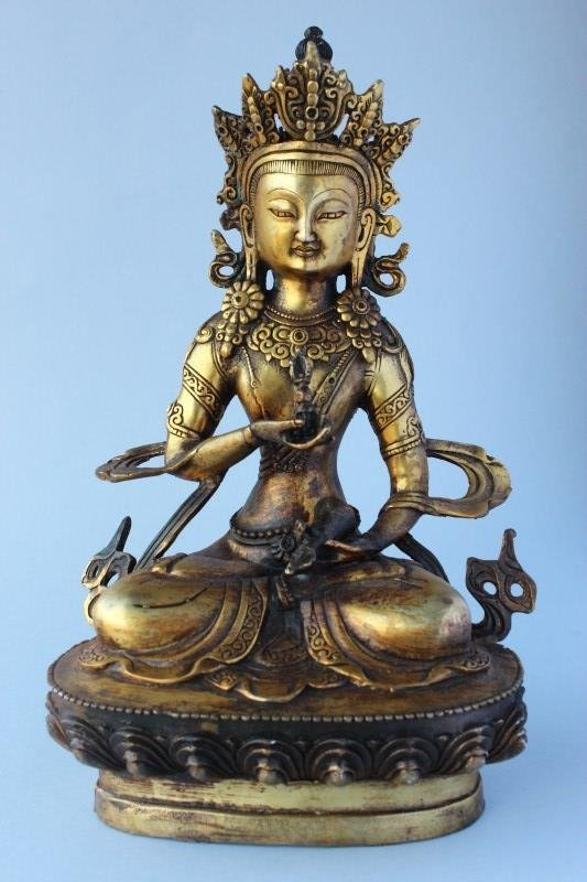Sino Tibetan Gilt Bronze Tara,