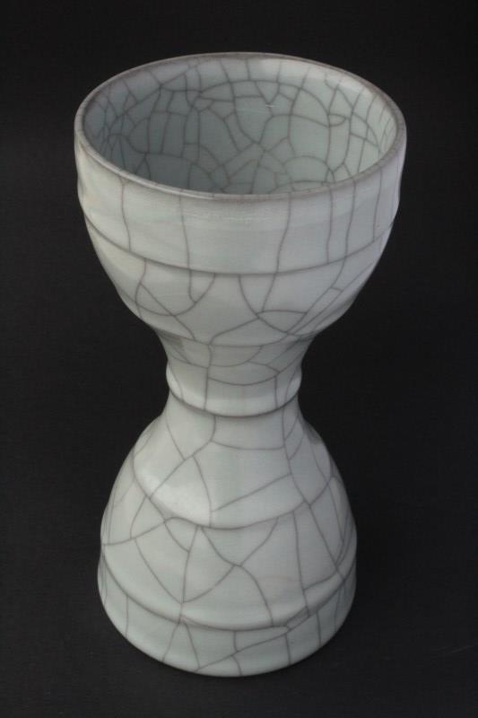 Unusual Chinese Porcelain Vase, - 2